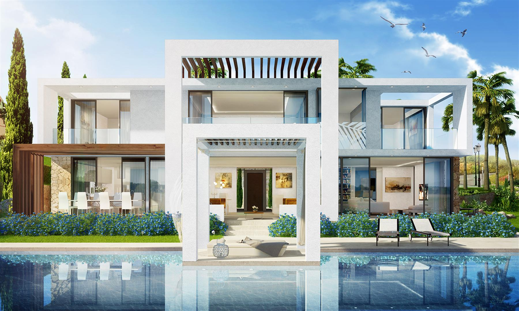 Foto Di Ville Lussuose contemporary luxury villas for sale in marbella